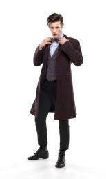 Matt Smith como el Doctor.