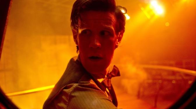 Detrás de escenas en Journey to the Centre of the TARDIS.